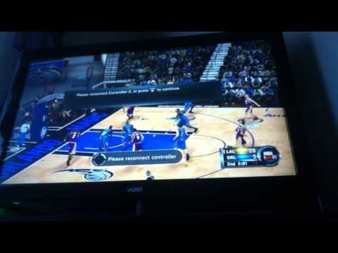 NBA 2k12 gameplay part 2