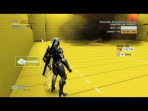Metal Gear Rising: Revengeance - VR Mission 1-20 - 1st Rank / Gold