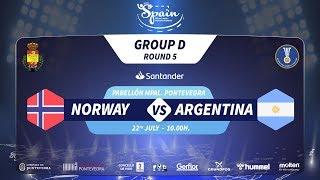 #Handtastic | PR - Group D | Norway : Argentina