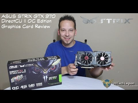 ASUS STRIX GTX 970 DirectCU II OC Benchmarks + Review