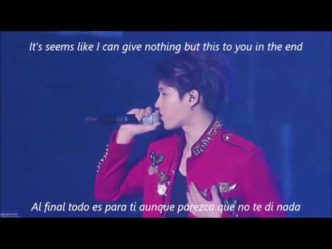 Infinite - Can You Smile - Live - Lyrics [Eng. | Esp.]