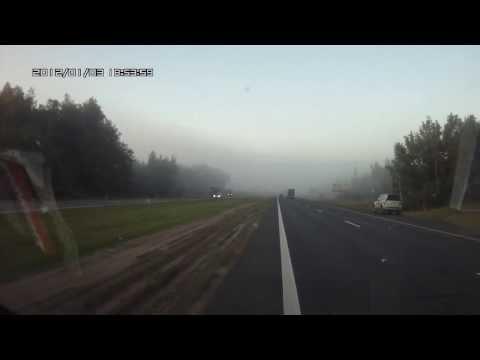 Уснул за рулем — наломал дров