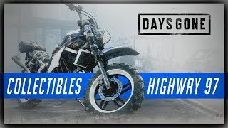 Days Gone HIGHWAY 97 Collectibles Guide - Characters, Nero Intel, Tourism & Character Upgrades