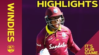 Hetmyer Hits Hundred As Windies Strike Back | Windies vs England 2nd ODI 2019 - Highlights