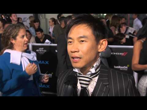 Furious 7: Director James Wan Official Red Carpet Movie Premiere Interview