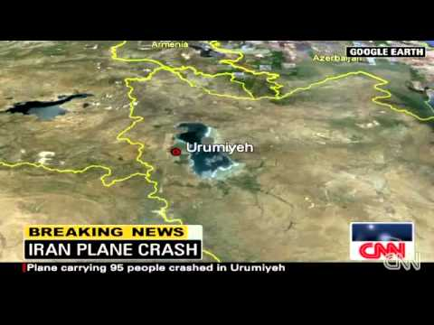 Boeing 727 Plane Crash In Iran (9 jan 2011)