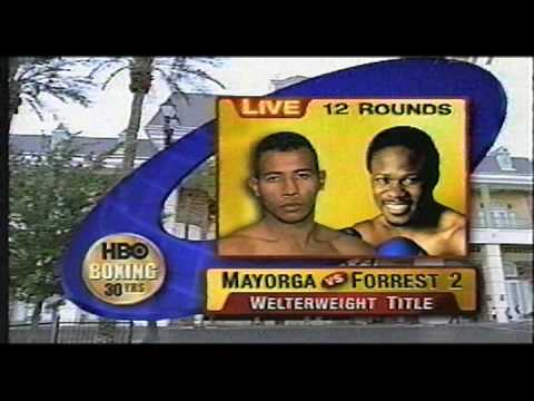 HBO Boxing Archives: Mayorga-Forrest II pre-fight (2003) Video