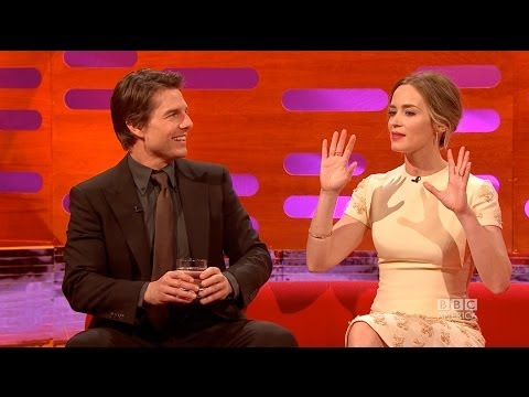 When EMILY BLUNT Broke TOM CRUISE's Spirit - The Graham Norton Show on BBC AMERICA