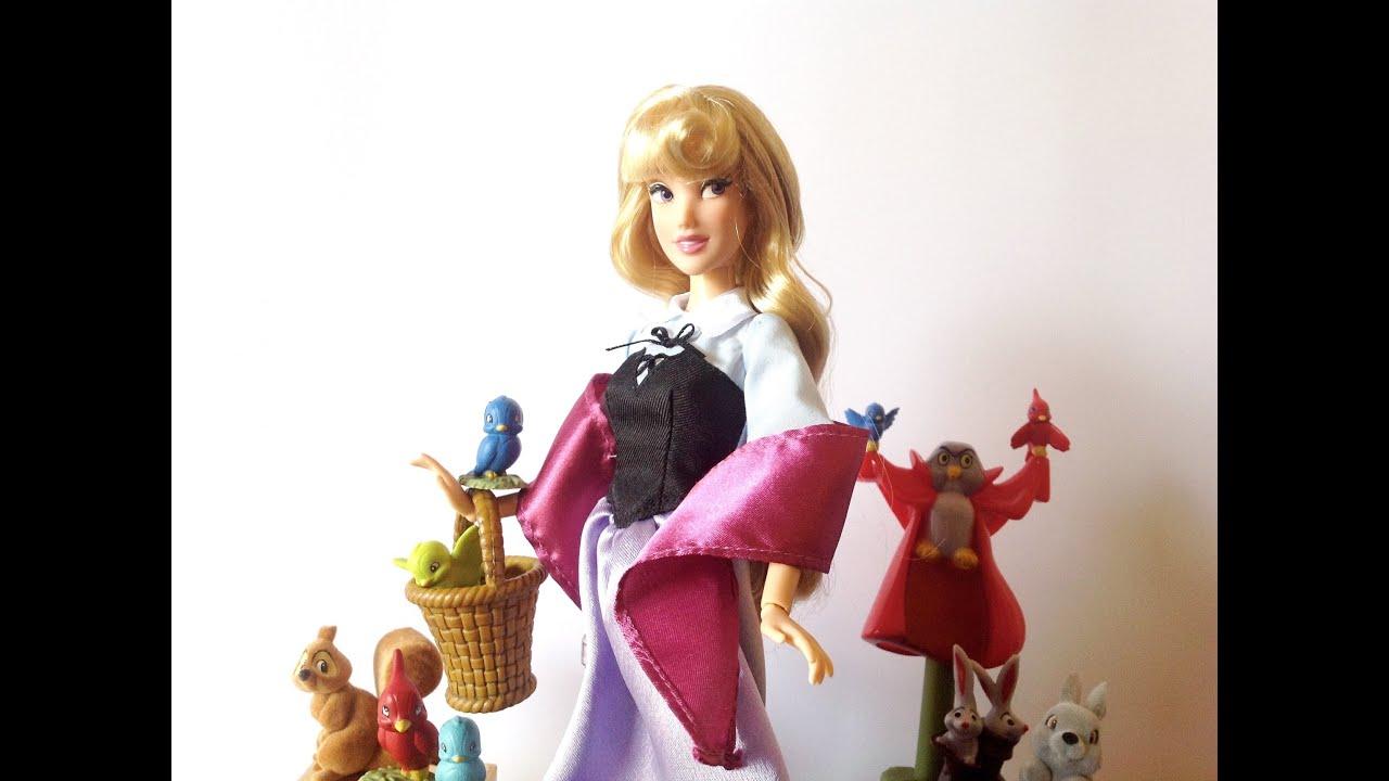 Disney Store Sleeping Beauty Aurora Deluxe Singing Doll