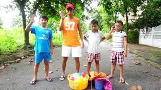 Trò Chơi Nhảy Bao Bố Vui Nhộn - Hunter Kids - Đồ Chơi Trẻ Em