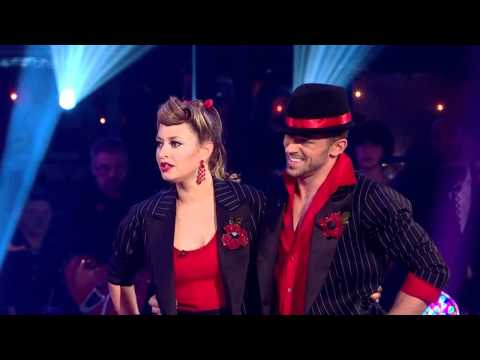 Holly Valance & Artem Chigvintsev - Strictly Come Dancing 2011 / Week 6 - Performance & Votes