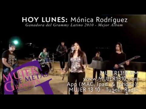 HOY LUNES: Mónica Rodriguez, ganadora del Grammy Latino