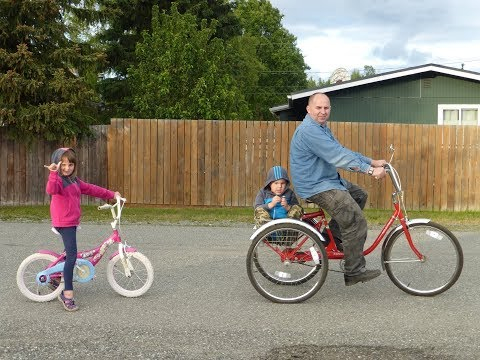 Рекомендую! Трехколесный велосипед для взрослых Прикольный транспорт Adult Trike