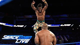 The New Day vs. Gable & Benjamin - Winners face The Usos at Fastlane: SmackDown LIVE, Feb. 20, 2018