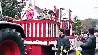 Auf grosser Tour zum Karnevalszug Schleiden Eifel - 2015 - 1