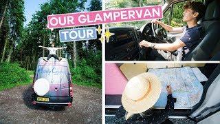 Our English GLAMPERVAN Tour  Southwest UK Roadtrip