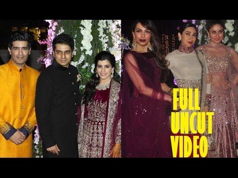 Sangeet Ceremony Of Manish Malhora's Niece Riddhi Malhotra Tejas Talwalkar | Full VIDEO 2014
