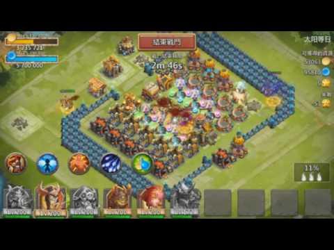 Castle Clash HIGH LEVEL Demogorgon in depth Gameplay Review!!