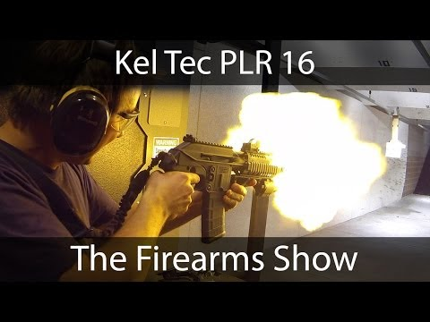 Kel Tec PLR 16 Pistol .223/5.56 Review