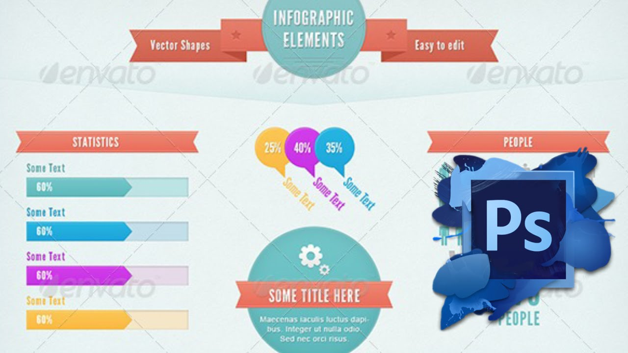 Free infographic templates photoshop