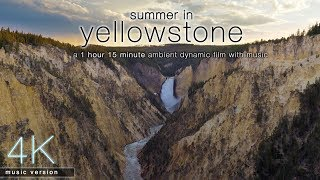 Summer in Yellowstone [4K UHD] Nature Relaxation Film with Music - Part I