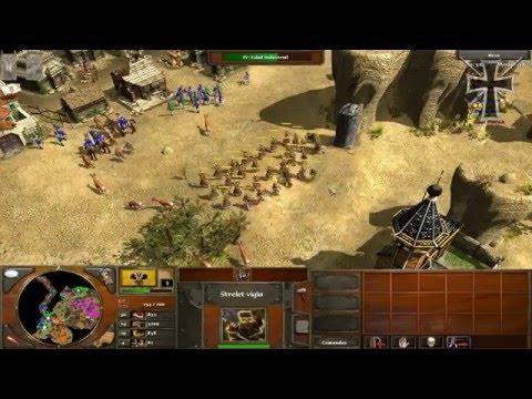 Age of Empires III - 1ª Partida Multijugador - Sergio y Fede