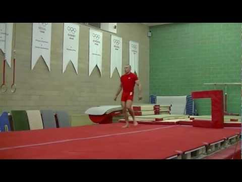 UFC 158 CAMP: Georges St-Pierre (GSP) Gymnastics Training Image 1