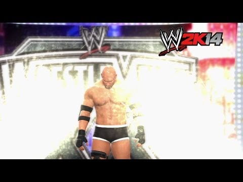 wwe 2k14 How-to: Brock Lesnar Vs. Bill Goldberg At Wrestlemania 20 video