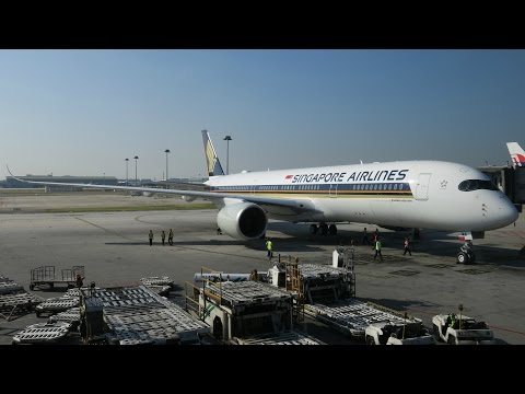 Singapore Airlines A350 Experience: SQ107 Kuala Lumpur to Singapore