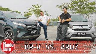 Perodua Aruz vs Honda BR-V, Ini Jawapan Kami !!!