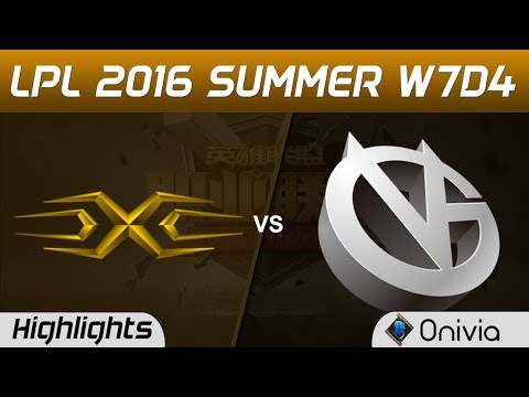 SS vs VG Highlights Game 3 Tencent LPL Summer 2016 W7D4 Snake vs Vici Gaming