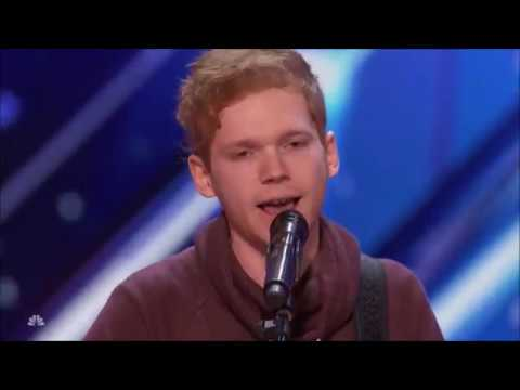 Chase Goehring: Songwriter With ORIGINAL HIT 'HURT' Will WOW You   America's Got Talent 2017