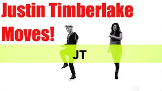 "Justin Timberlake Dance Moves 52 Grooves ""The JT"" @ClubDanceKing"