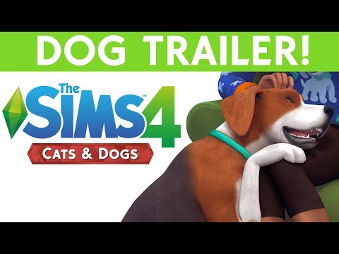 SIMS 4 CATS & DOGS - NEW DOG TRAILER!!