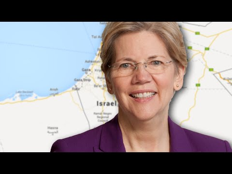 Elizabeth Warren's Israel Position Surprises All, Especially Liberals