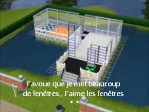 Sims 3 construction d 39 une maison sur l 39 eau youtube for Maison moderne de luxe sims 3