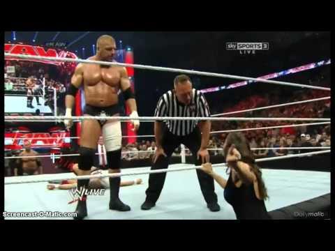 Monday Night RAW 7 4 14 Daniel Bryan vs Triple H WWE Word Heavyweight Champion