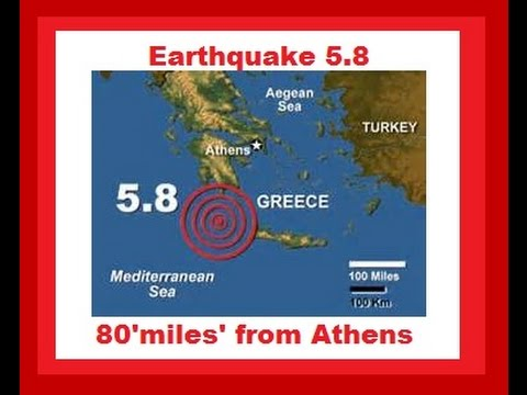 5.8 Magnitude Earthquake Hits Southern Greece