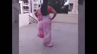 Aunty hot mass dance
