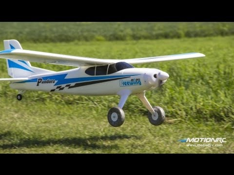 Freewing Pandora 4-in-1 PNP Flight Review - Config 1: High Wing and Tail Wheel