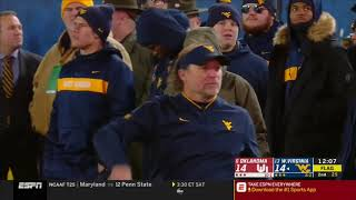 2018 - Oklahoma Sooners at West Virginia Mountaineers in 40 Minute