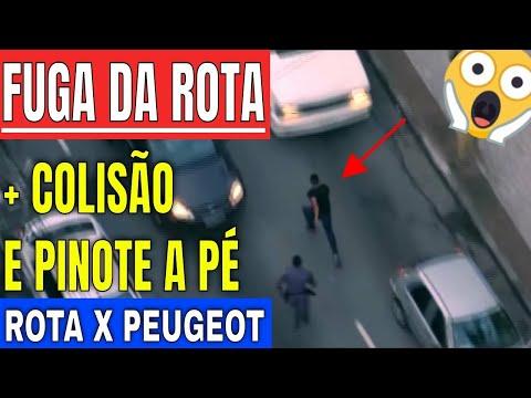 Fuga da Rota Perseguição alucinada pelas ruas de SP 19-03-2018
