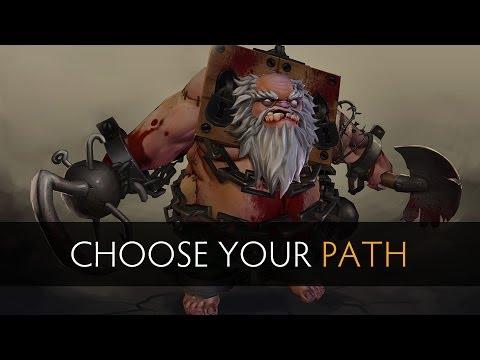 Dota 2 Which path should Pudge take?
