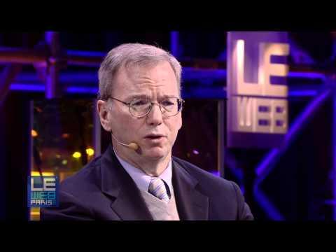 LeWeb 2011 Eric Schmidt & Loic Le Meur