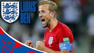 England vs Tunisia LIVE Matchday Special! | Lions' Den Episode Seven | World Cup 2018