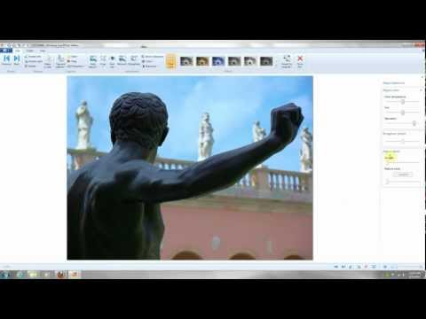 Very Basic Editing using Free, Windows Live Photo Gallery