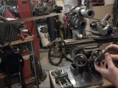 Tube Notching Coping With Bc Ames Milling Machine Youtube