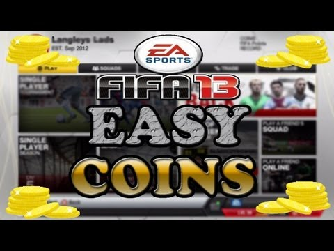 FIFA 13 ULTIMATE TEAM HOW TO EARN EXTRA COINS (Without Trading)
