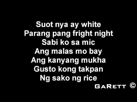 Hipon - Sir Rex Kantatero Ft. Shehyee Lyrics video
