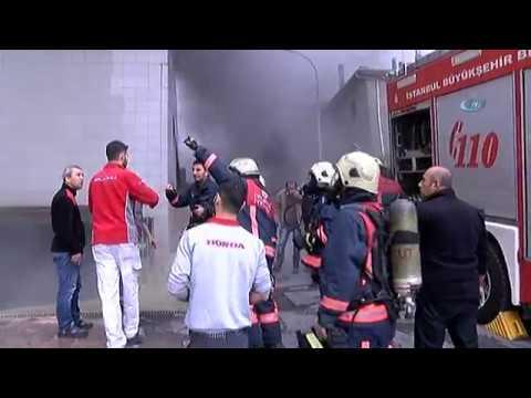 İstanbul Maltepe'de Yangın